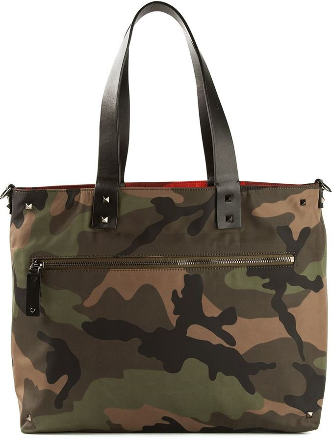Reversible Camouflage Tote