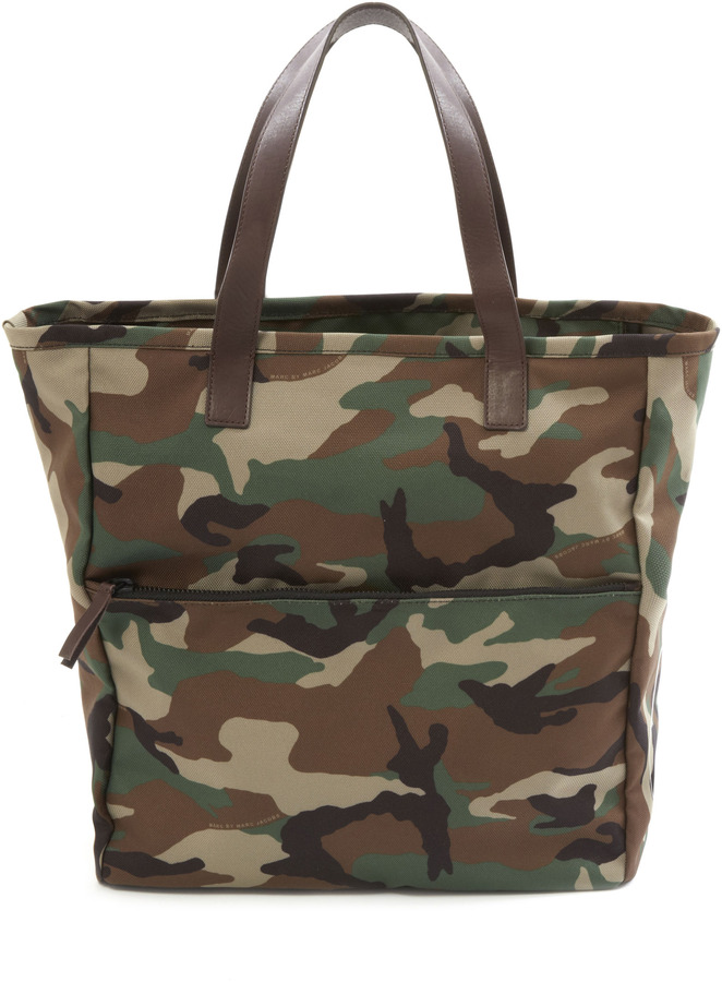 3a738be4035 Marc by Marc Jacobs Take Me Homme Camo Tote, $228 | Marc Jacobs ...