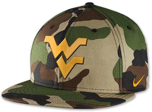 a2e9b5e9 Nike West Virginia Mountaineers College Camo Snapback Hat, $32 ...