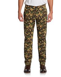 Camo chino pants medium 237904