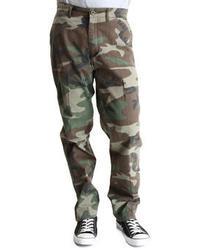 Rothco Woodland Camo 4 Pocket Slim Fit Chino Pants