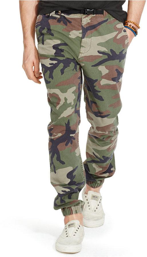 5415affb258 ... Camouflage Chinos Denim   Supply Ralph Lauren Twill Hiking Chino Jogger  Pants ...