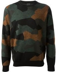 Paul Smith Camouflage Sweater