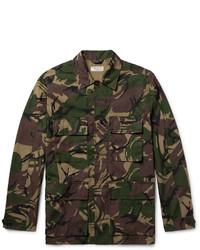 J.Crew Camouflage Print Cotton Blend Field Jacket