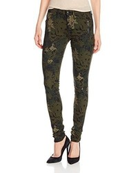 Joe's Jeans Rollin Zip Legging Jean In Floral Camo