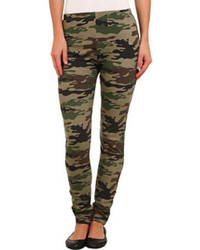 Plush Fleece Lined Camo Legging Clothing