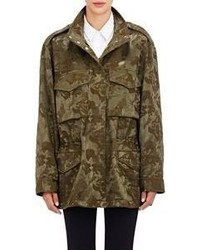 Alexander Wang Boyfriend Cargo Jacket Green