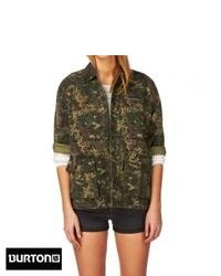 Burton harvey jacket camo medium 74625