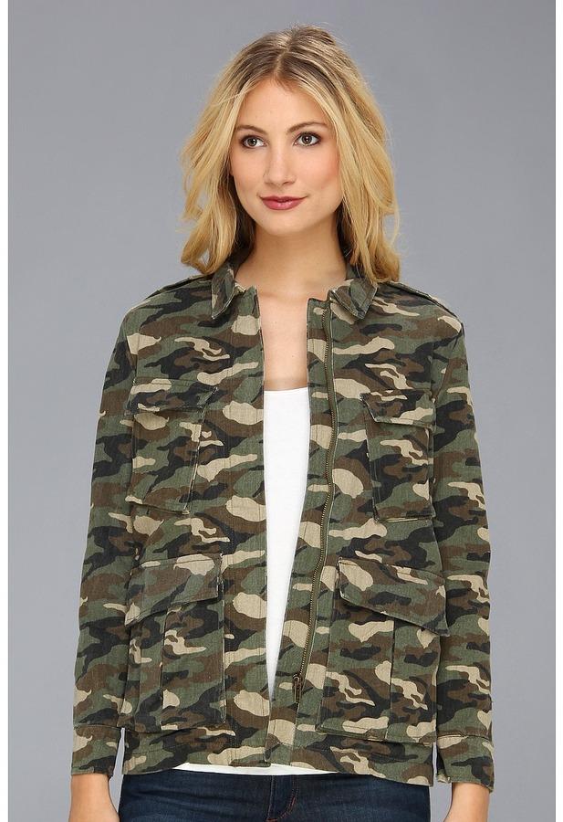 d4604dbaf24ea Gabriella Rocha Camouflage Denim Jacket, $79 | 6pm.com | Lookastic.com