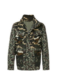 PS Paul Smith Camouflage Print Jacket