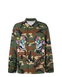 Forte Dei Marmi Couture Embroidered Military Jacket