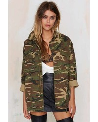 Factory Femme Fatality Army Jacket