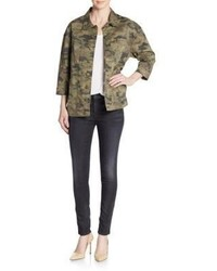 Hudson emmet camo boyfriend jacket medium 850928