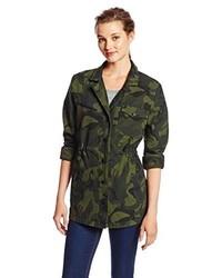 Hurley Juniors Military Long Jacket