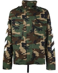Off-White Oversized Camo Jacket