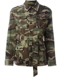 Studded military jacket medium 448611