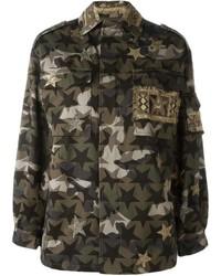 Valentino Camustars Military Jacket