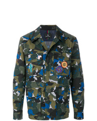 Ps By Paul Smith Camouflage Shirt Jacket