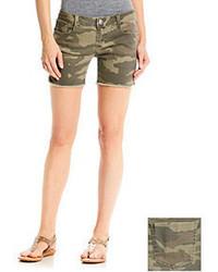 Camo Hippie Laundry Print Shorts