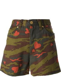 Jean Paul Gaultier Vintage Camouflage Shorts