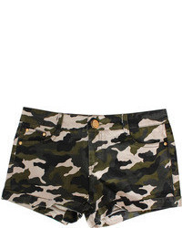 Camo Military Shorts