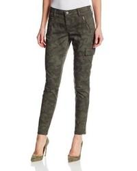 DKNY Jeans Camo Print Slim Cargo Pant