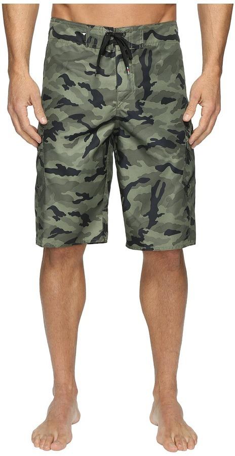 52746d6a18 Quiksilver Manic Camo 22 Boardshorts Swimwear, $45 | Zappos ...