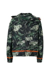 Alexander McQueen Camouflage Bomber Jacket
