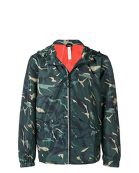 Diesel Hooded Camouflage Jacket