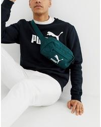 Puma Bum Bag In Green