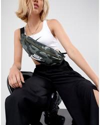 Nike Camo Print Heritage Bum Bag