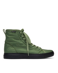Ps By Paul Smith Green Dreyfuss High Top Sneakers