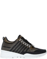 Dsquared2 40mm 251 Glitter Canvas Sneakers