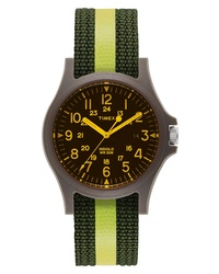 TimexR ARCHIVE Timex Acadia Nylon Strap Watch