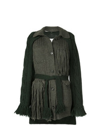 Deconstructed fringed cardigan medium 7620352
