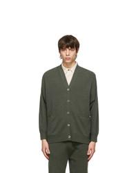 Extreme Cashmere Khaki N24 Tokio Cardigan