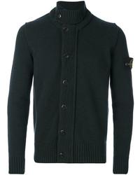 Stand collar cardigan medium 5144166