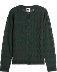 M Missoni Textured Wool Blend Cardigan