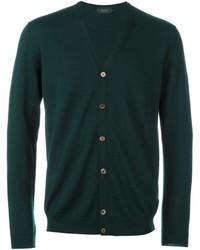 Zanone buttoned cardigan medium 1253104