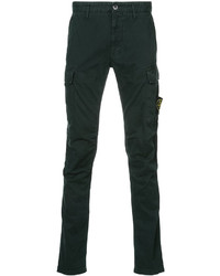 Dark Green Cargo Pants