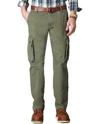 Dockers Bellowed Pocket D2 Flat Front Cargo Pants