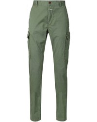 Closed Slim Fit Cargo Trousers