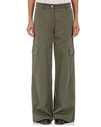 Robert Rodriguez Cotton Wide Leg Cargo Pants