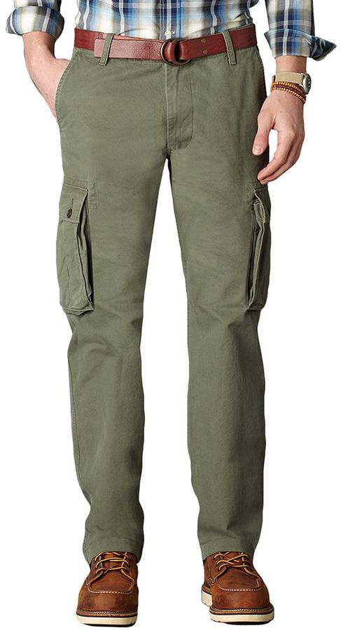 Dockers Bellowed Pocket D2 Flat Front Cargo Pants Where