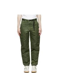 Clot Green Nylon Boiler Cargo Pants