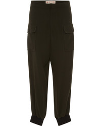 Marni High Waist Cargo Trousers
