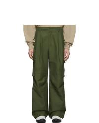 Ader Error Khaki Ronil Cargo Pants