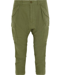 Nlst Cropped Cotton Cargo Pants