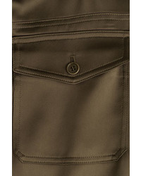 Theory Satin Cargo Pants