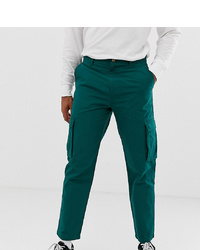 Collusion Skater Fit Cargo Trouser In Green